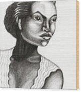 Eartha Kitt Wood Print