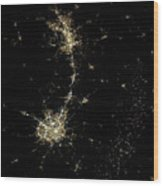 Earthbound Nebulae Wood Print