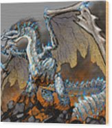 Earthquake Dragon Wood Print