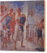 Earthquake In Crimea Kuzma Petrov-vodkin - 1927-1928 Wood Print