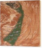Earths Wind - Tile Wood Print
