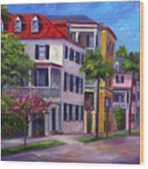 East Bay - Charleston  Wood Print
