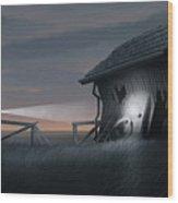 East Coast Fear Wood Print