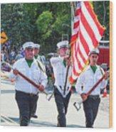 East Durham Volunteer Fire Company Inc 1 Wood Print