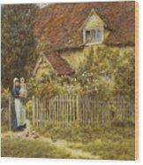 East End Farm Moss Lane Pinner Wood Print