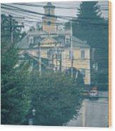 East Greenwich Rhode Island Waterfront Scenes Wood Print