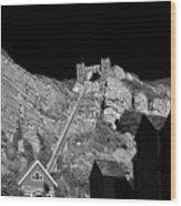 East Hill Cliff Railway - Hastings Wood Print