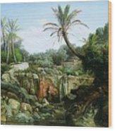 East Landscape Henryk Semiradsky Wood Print