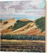 East Of Eden Wood Print