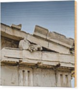 East Pediment - Parthenon Wood Print