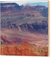 East Rim View Wood Print