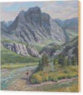 East Rosebud Montana Wood Print