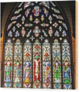East Stained Glass Window Christ Church Cathedral 1 Wood Print