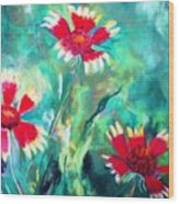 East Texas Wild Flowers Wood Print