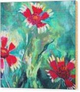 East Texas Wild Flowers Wood Print