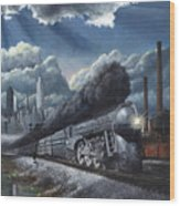 Eastbound Twentieth Century Limited Wood Print