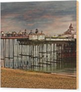 Eastbourne Pier Wood Print