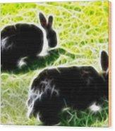 Easter Bunny 1 Wood Print
