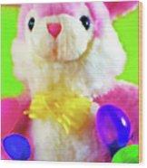 Easter Bunny 2 Wood Print