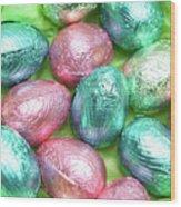 Easter Eggs Viii Wood Print
