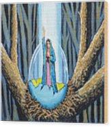 Easter Emergence Wood Print