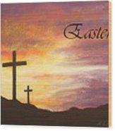 Easter Wood Print