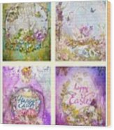 Easter Mood Collection Wood Print