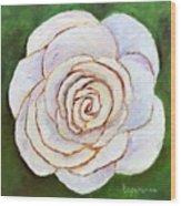 Easter Rose Wood Print