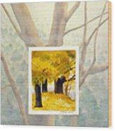 Eastern Autumn Wood Print