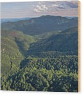 Eastern Continental Divide Wood Print