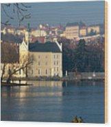 Eastern European Fishing Wood Print