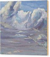 Eastern Flagler County Cloud Series IIi Wood Print