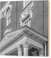 Eastern Kentucky University Crabbe Library Detail Wood Print