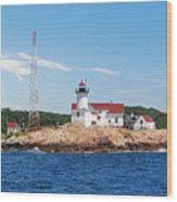 Eastern Point Light Wood Print