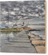 Eastern Point Lighthouse Wood Print