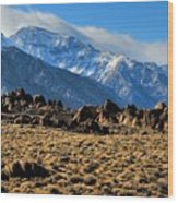 Eastern Sierras 2 Wood Print