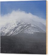 Eastern Slopes Of Mount Washington New Hampshire Usa Wood Print