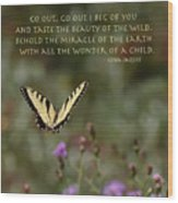 Eastern Tiger Swallowtail Butterfly - The Beauty Of The Wild Wood Print