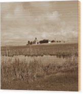 Eastpoint Lighthouse Nj Wood Print
