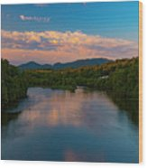 Eastward Bound Wood Print