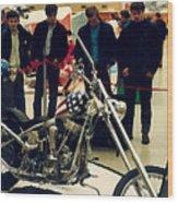 Easy Rider Bike Wood Print