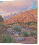Eaton Canyon Sunset Wood Print