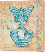 Eau De Toilette Wood Print