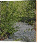 Ebb And Flow Wood Print