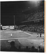Ebbets Field, 1957 Wood Print