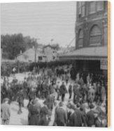 Ebbets Field Crowd 1920 Wood Print