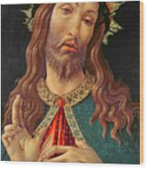 Ecce Homo Or The Redeemer Wood Print