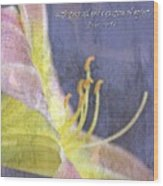 Ecclesiastes 9 6 Wood Print