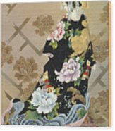 Echigo Dojouji Wood Print by Haruyo Morita