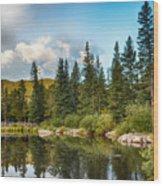 Echo Lake 2 Wood Print